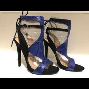 New Just Fab Strappy Sandals 9M